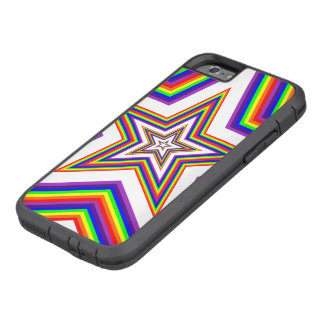 Colored stars beautiful tough xtreme iPhone 6 case