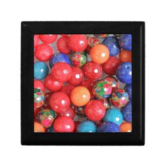 colored stones gift box