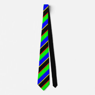 colored stripes tie