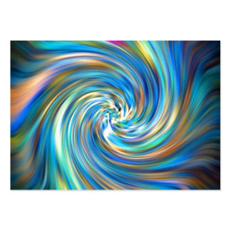Colored Swirl Pack Of Chubby Business Cards