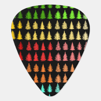 Colored Trees Guitar Picks