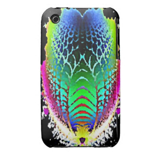 Colored Trilobite Abstract Art Case-Mate iPhone 3  iPhone 3 Case-Mate Case