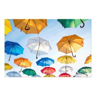 Colored Umbrellas Photo