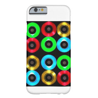 Colored Vinyl 45's iPhone 6, Barely There  Case