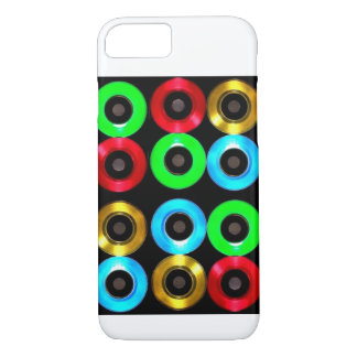 Colored Vinyl 45's iPhone 7, Barely There  Case