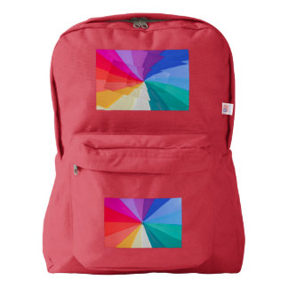 colored vortex on  American Apparel™ Backpack, Backpack