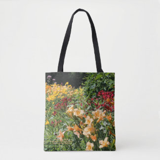 Colorfuil Mid Summer Garden Bouquets! Tote Bag