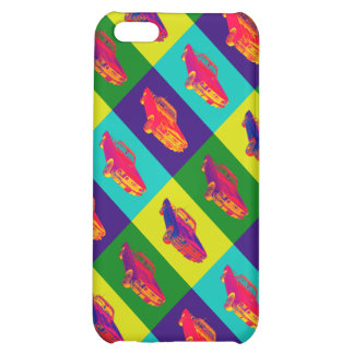 Colorful1965 Ford Mustang Convertible Pop Art iPhone 5C Covers