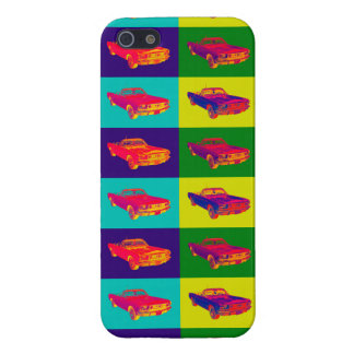 Colorful1965 Ford Mustang Convertible Pop Art iPhone 5/5S Case