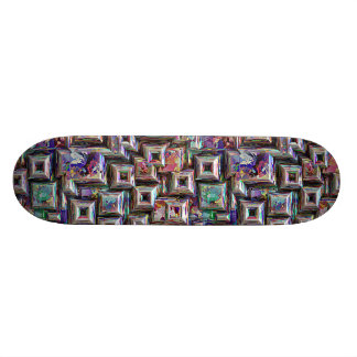 Colorful 3D Abstract Structure 20.6 Cm Skateboard Deck