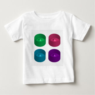 Colorful 3d object tshirts