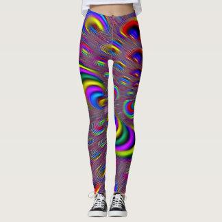 Colorful 3D Rave Leggings