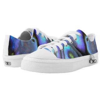 Colorful Abalone Seashell, Beautiful Nature Printed Shoes
