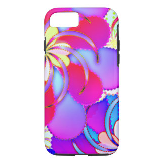 Colorful Abstract - Apple iPhone 7, Tough Phone Ca iPhone 8/7 Case