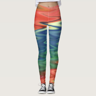 Colorful Abstract Art Legging
