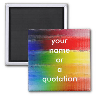 colorful Abstract art Magnet