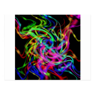 colorful abstract art post cards