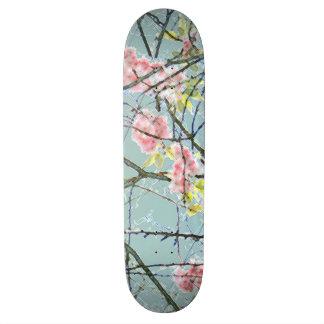 Colorful Abstract Art Print Skate Decks