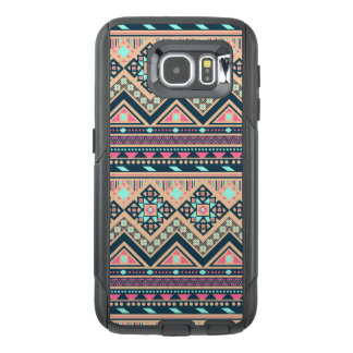 Colorful Abstract Aztec Tribal Pattern OtterBox Samsung Galaxy S6 Case