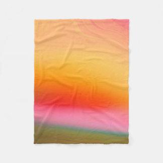 Colorful Abstract Background Fleece Blanket