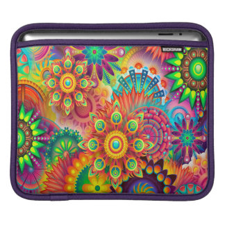 colorful-abstract-background iPad sleeve