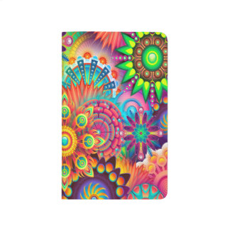 Colorful Abstract Background Journal