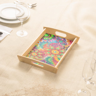 colorful-abstract-background serving tray