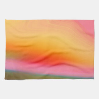 Colorful Abstract Background Tea Towel