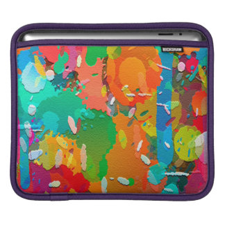 Colorful Abstract Brigh iPad Sleeves