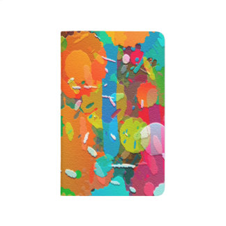 Colorful Abstract Bright Background Journal