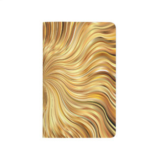 Colorful Abstract Brown Reflective Journal