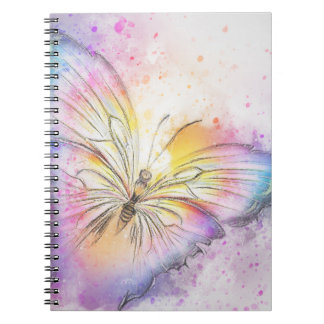 Colorful Abstract Butterfly Notebooks
