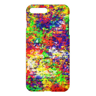 Colorful Abstract Chaotic Pattern iPhone 7 Plus Case