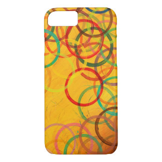 Colorful Abstract Circles iPhone 8/7 Case