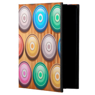 Colorful Abstract Concentric Circles Pattern Powis iPad Air 2 Case