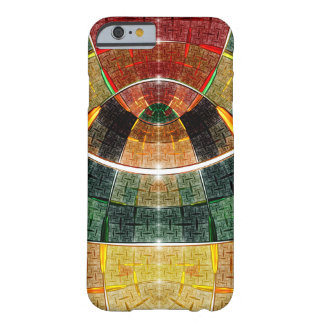 colorful abstract design barely there iPhone 6 case
