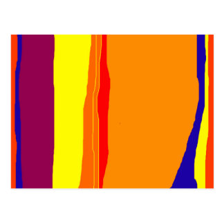 Colorful abstract design by Moma Postcard