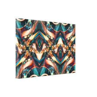 Colorful Abstract Design Canvas Prints