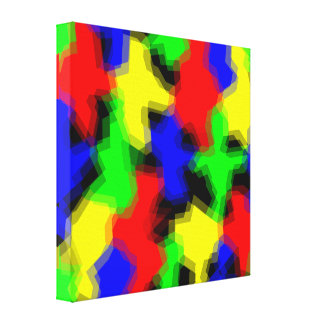 Colorful Abstract Design Canvas Wrap Print Canvas Print