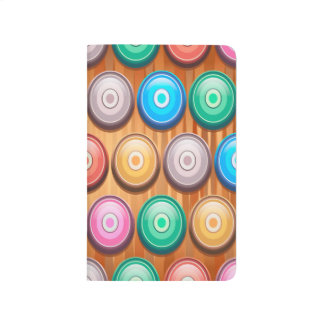 Colorful Abstract Diamond Shape Background Journal