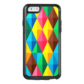 Colorful Abstract Diamond Shape Background OtterBox iPhone 6/6s Case