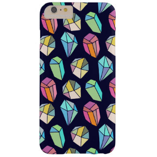Colorful Abstract Diamonds Pattern Barely There iPhone 6 Plus Case