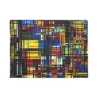 Colorful Abstract Doormat