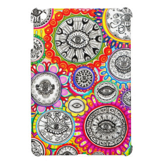 Colorful Abstract Eyes Art iPad Mini Case