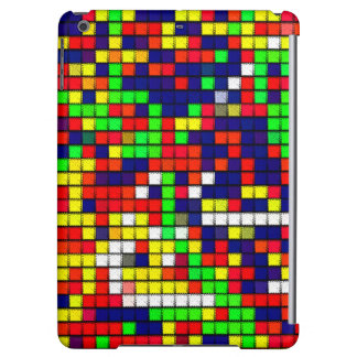 Colorful Abstract Fabric pattern iPad Air Cover