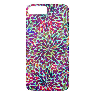 Colorful Abstract Floral Pattern iPhone 8 Plus/7 Plus Case