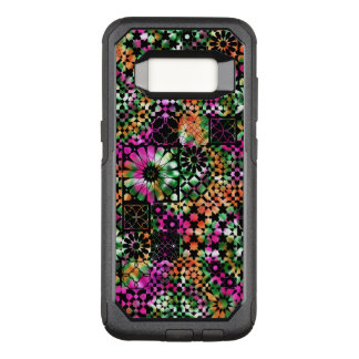 Colorful Abstract Flower Pattern OtterBox Commuter Samsung Galaxy S8 Case