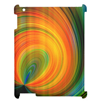 Colorful abstract Fractal Art iPad Cases