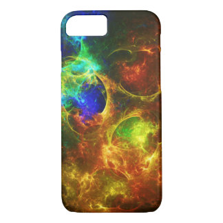 Colorful Abstract Fractal Galaxy iPhone 8/7 Case
