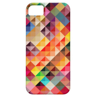 Colorful Abstract Geometric Barely There iPhone 5 Case
